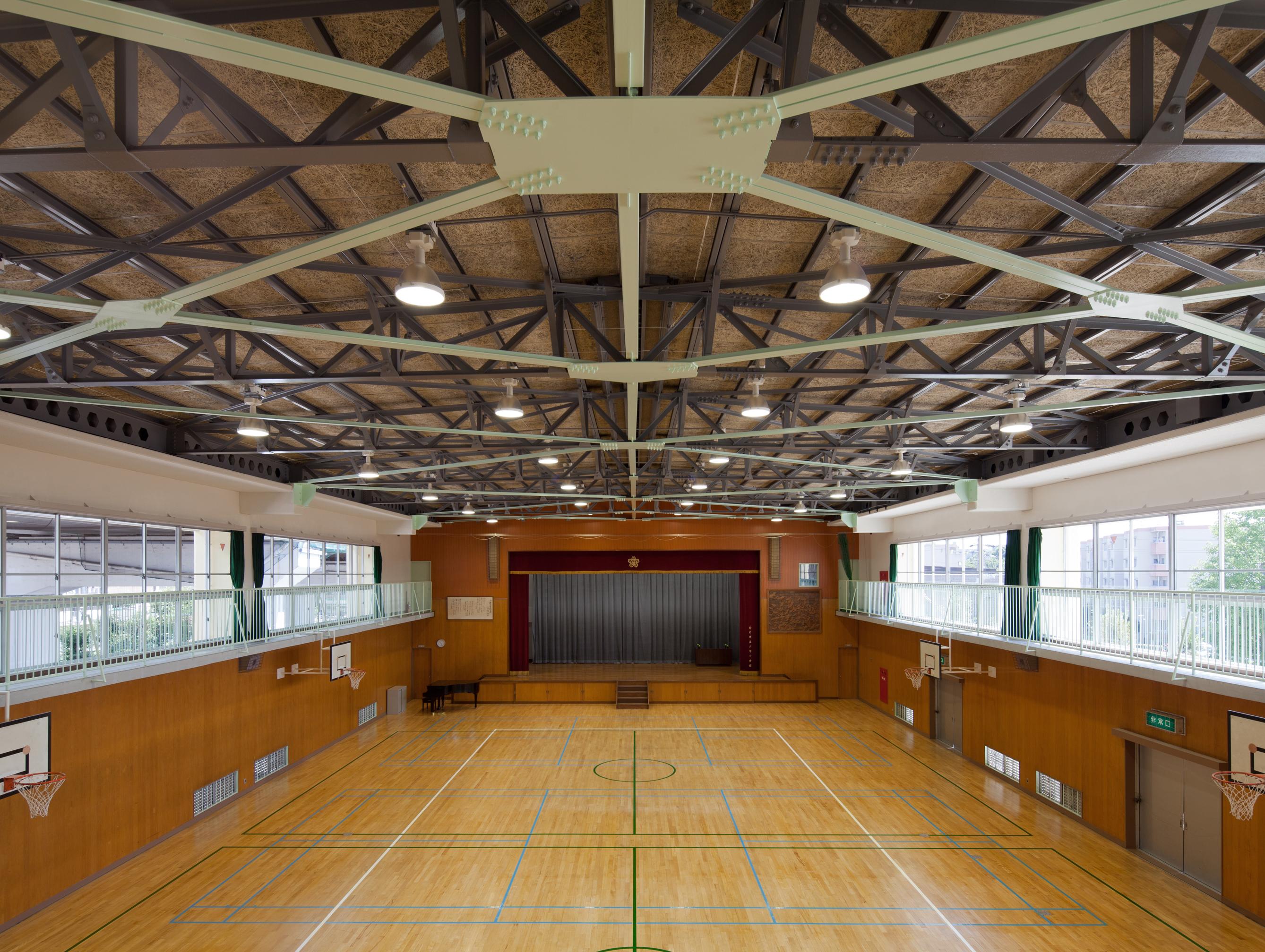八雲小学校屋内運動場耐震補強