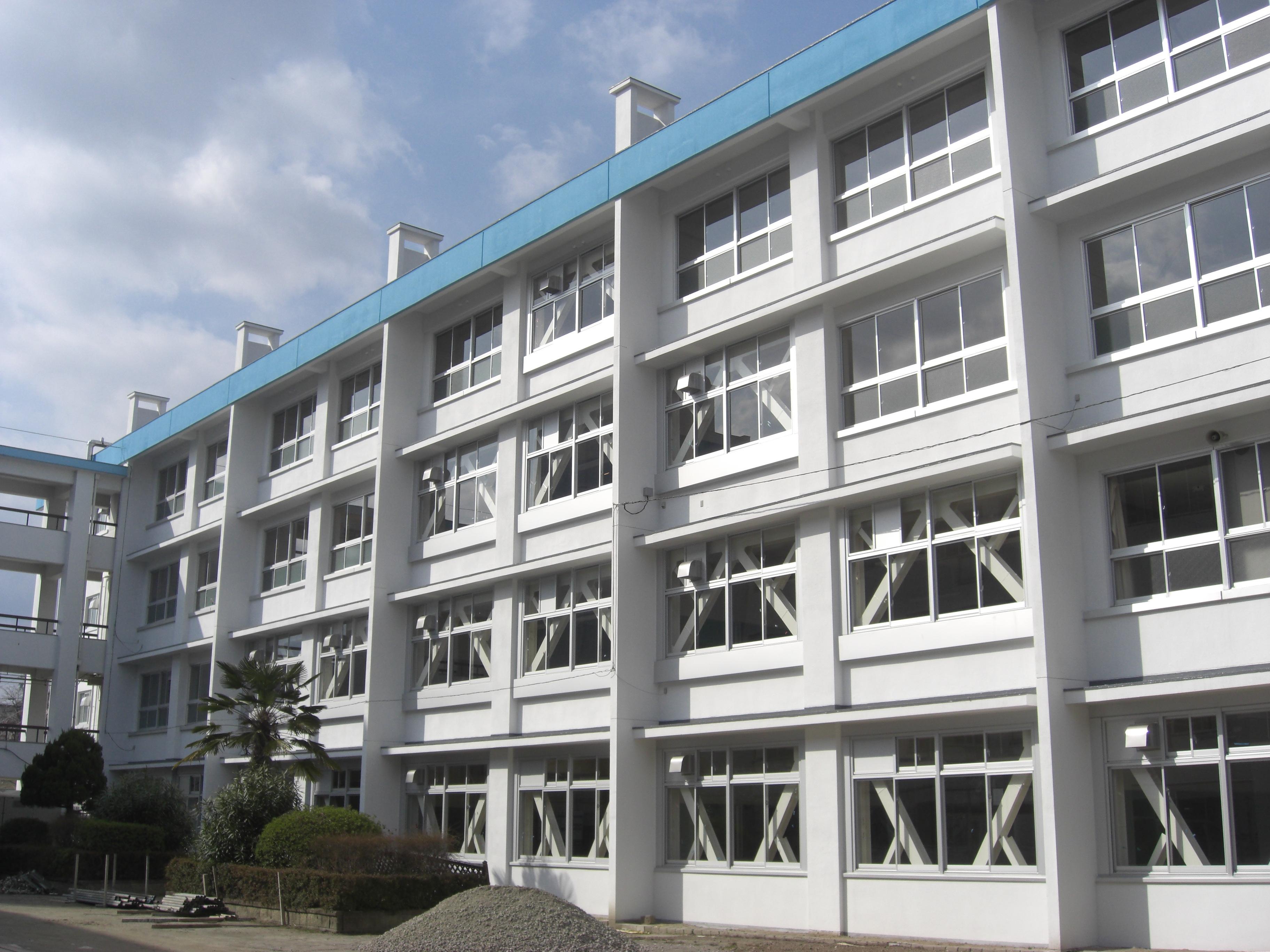 多田中学校北校舎棟及び屋内運動場棟耐震補強等