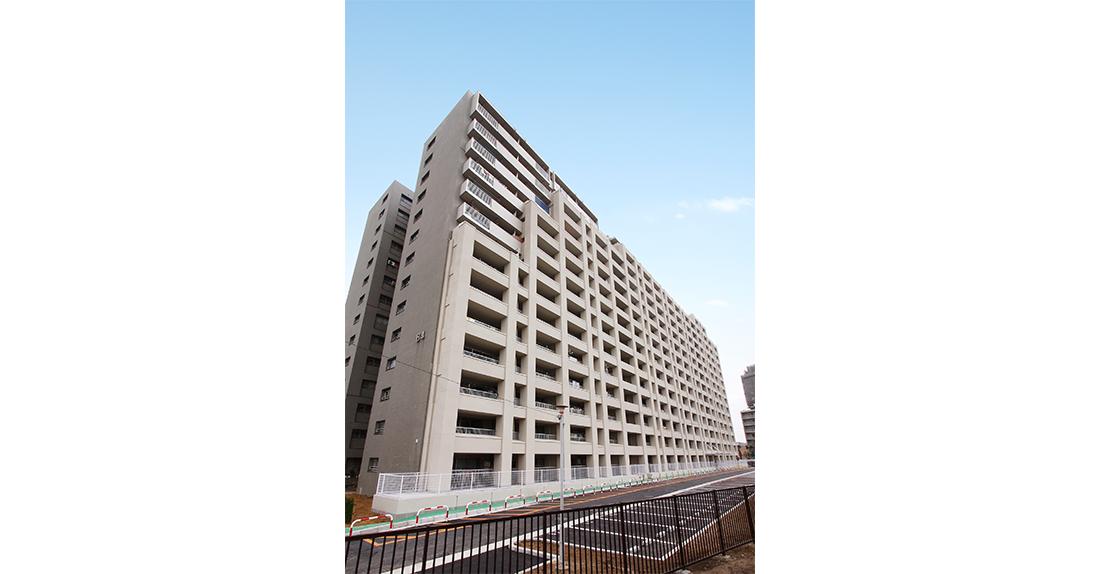 大阪府営岸部第1住宅 第1期耐震補強