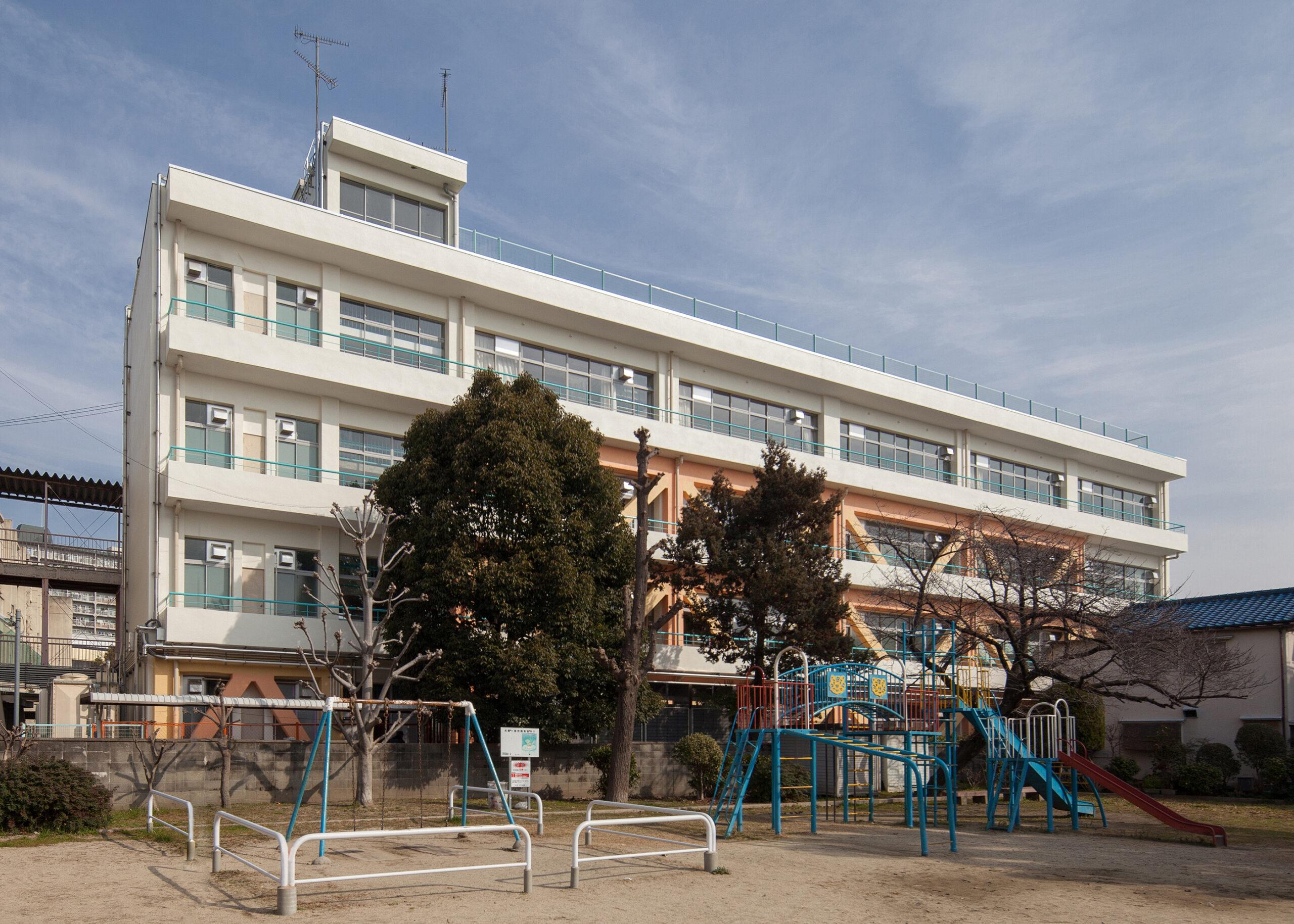 八雲小学校⑤棟校舎耐震補強