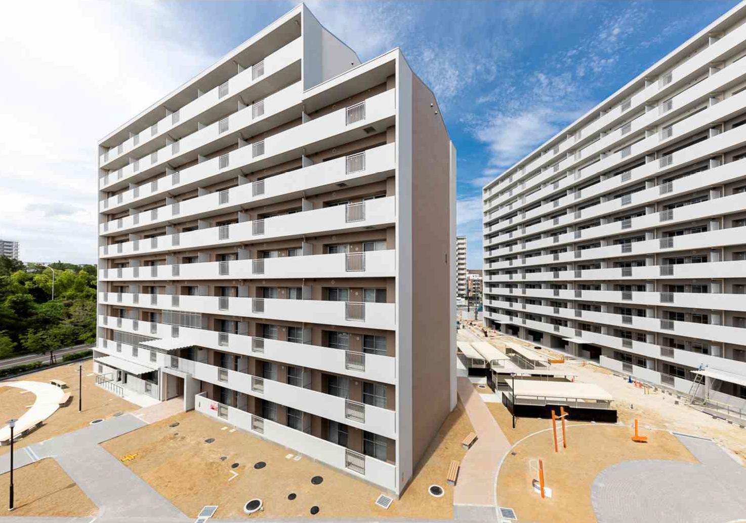 大阪府営堺三原台第1期高層住宅(第5工区)
